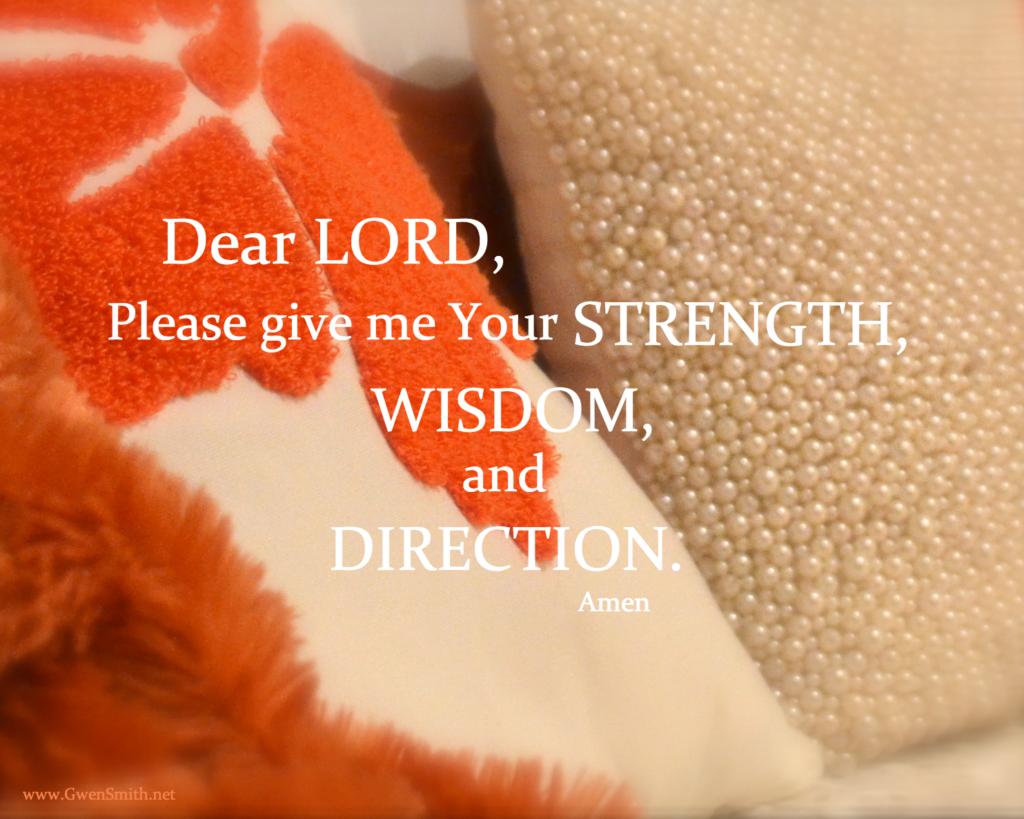 orange couch prayer