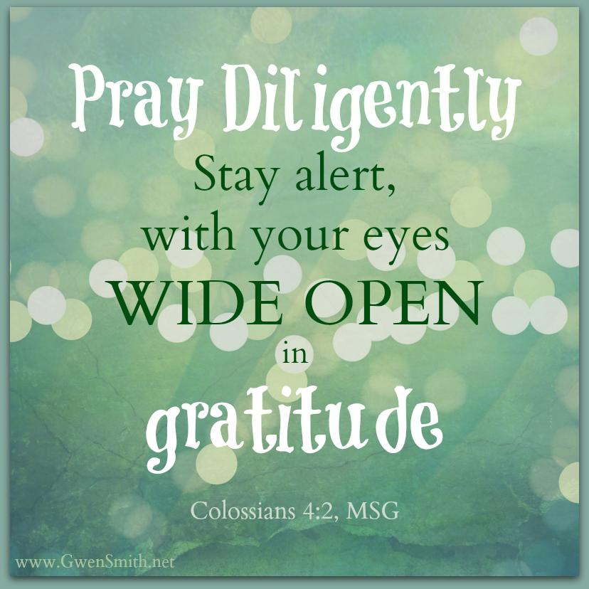 Col 4 Pray