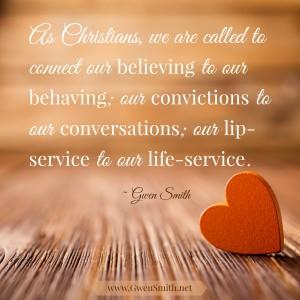 believing behaving