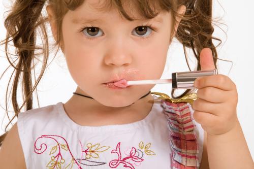 Little Girl Lipstick