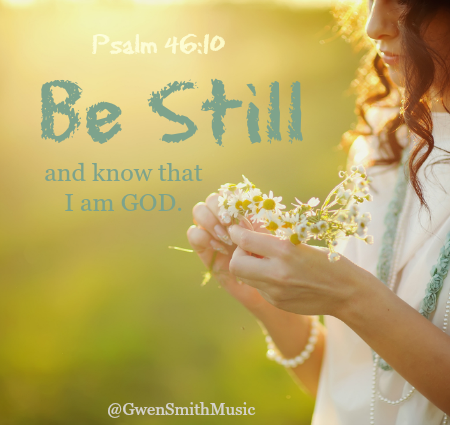 Be still ps46