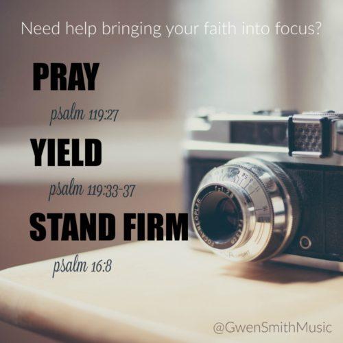Faith into Focus