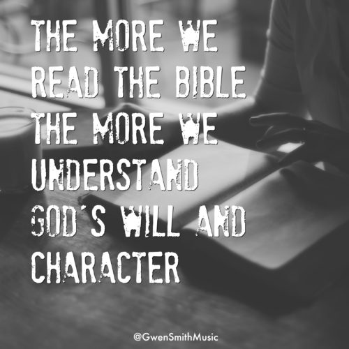 Read Bible Know God Will