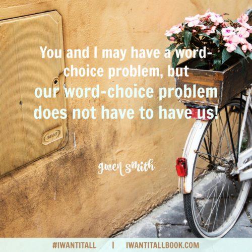 Word Choice green