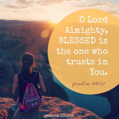 psalm 84.12